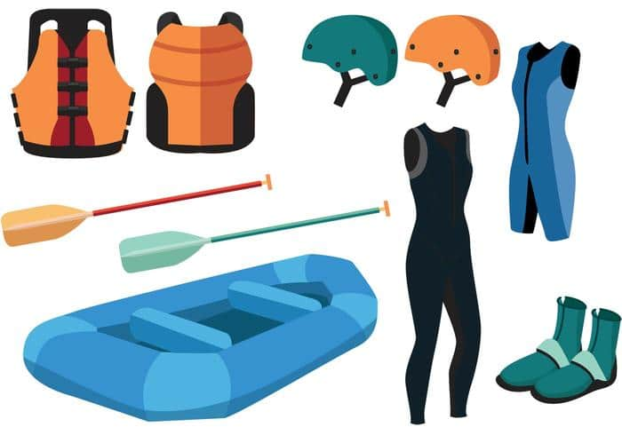 White Water Rafting Equipment List