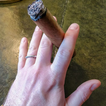 How Not To Hold A Cigar